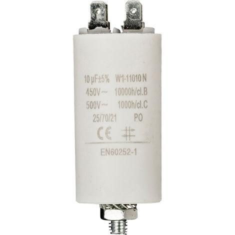 "main image of ""No Brand Condensateur 10.0uf / 450 v + Aarde NE550517116"""