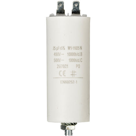 No Brand Condensateur 25.0uf / 450 v + Aarde NE550517124