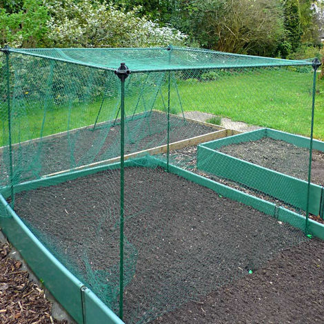 No Frills Fruit & Veg Cage with Bird Net (Various Sizes Available)