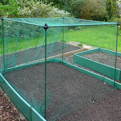 Poly house Mini Greenhouse Poly Cage with Door 1m x 1m x 1.35m high