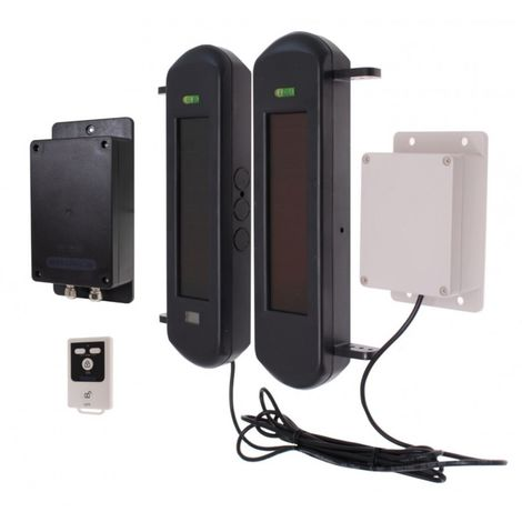 No Power Required Silent 3G GSM Wireless Perimeter Alarm