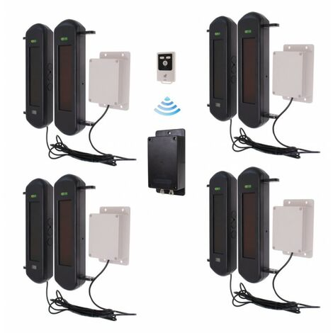 No Power Required Silent 3G GSM Wireless Perimeter Alarm Kit 4