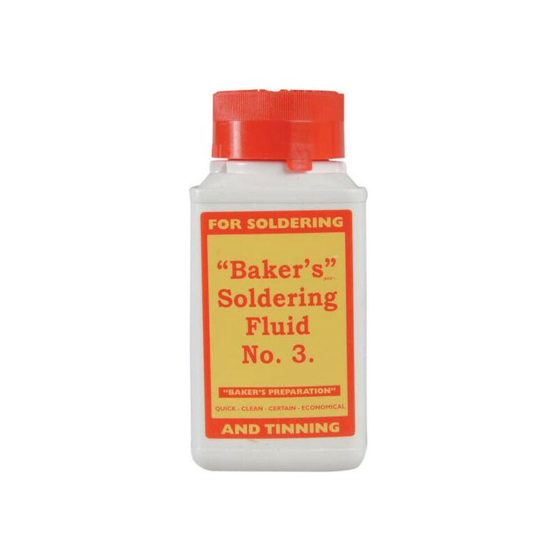 Image of BAK125 No.3 Soldering Fluid 125ml - Bakers