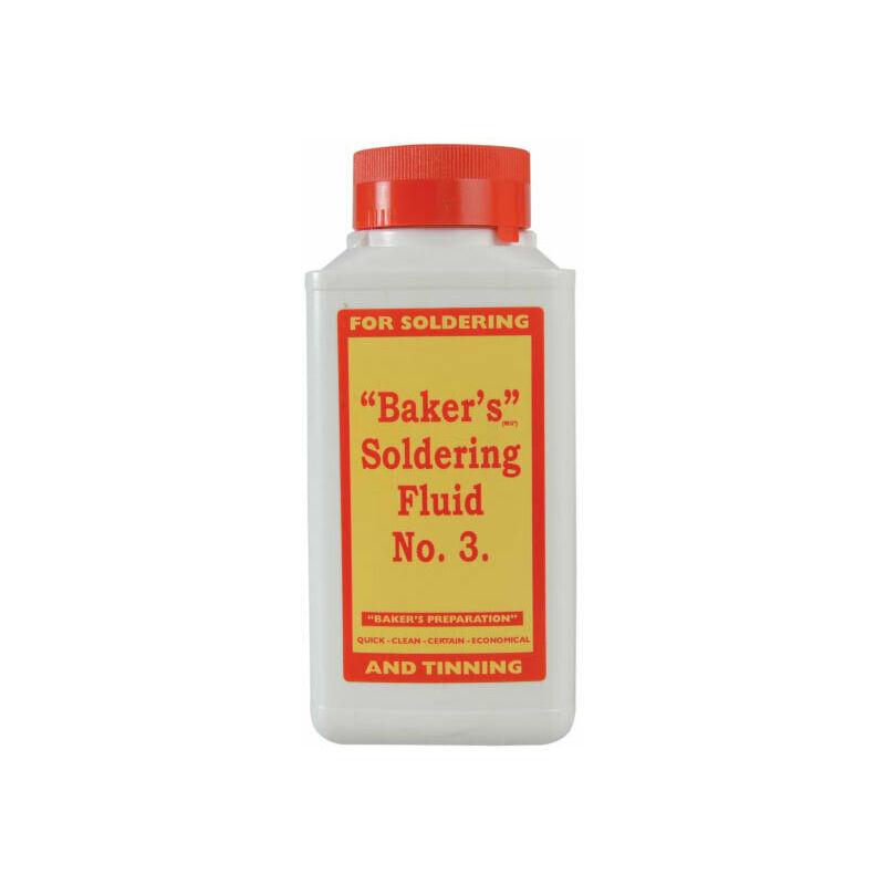 Image of BAK250 No.3 Soldering Fluid 250ml - Bakers