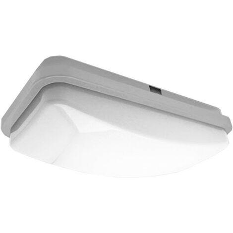 Nobile Lámpara de techo LED rectangular 20W 4000K IP65 PLR27/4K