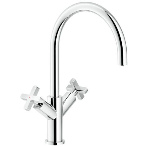 Nobili Wasserhahn Spüle Küche Lira LR116217CR | verchromten