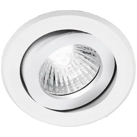 NOBLE LED DOWNLIGHT EMPOTRABLE LED BLANCA REDONDA AJUSTABLE 12V 50W