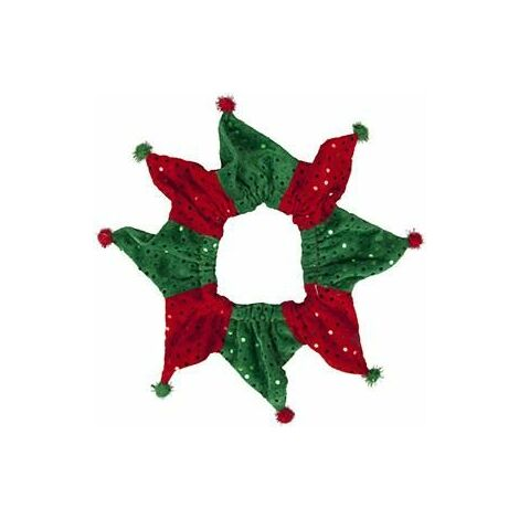 Noel decoration cou 1 taille