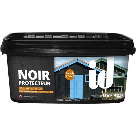 NOIR PROTECTEUR PHASE AQUEUSE 2.5L - Les anciens ébénistes