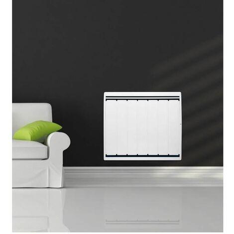 NOIROT Calidou Plus - 1000 watts - Radiateur a véritable inertie fonte + film chauffant - Entierement programmable - Format Horizont