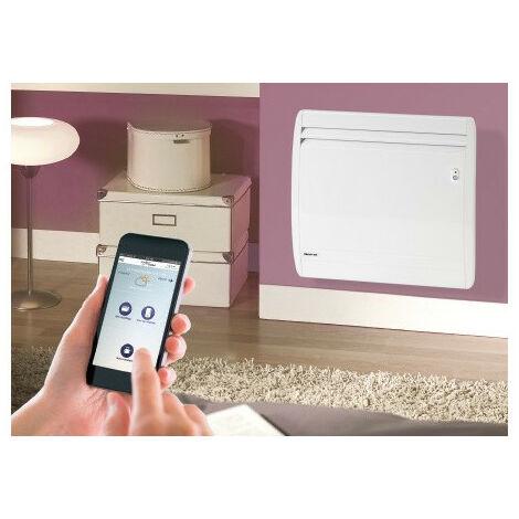 NOIROT MILLENIUM Smart Eco Control vertical blanc