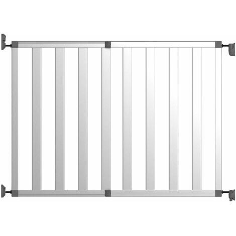 Noma Barrière de sécurité Ikon Pure 62-104 cm Aluminium Argenté 94078