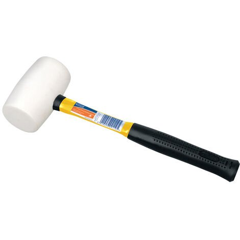 Non-Marking Rubber Head Mallet with Fibreglass Shaft (680g-24oz)
