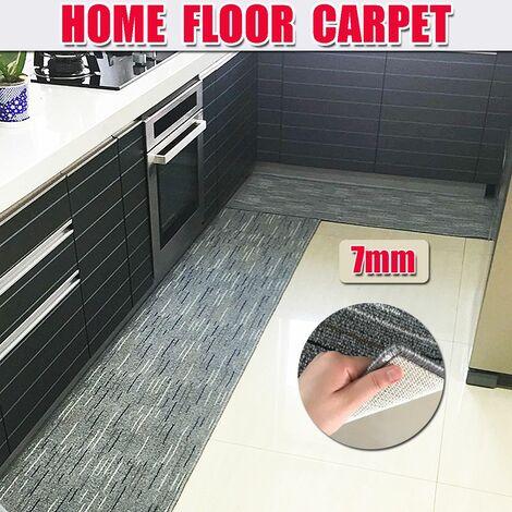 Non Slip Mat Home Kitchen Door Mat Home Washable Floor Mat (50x180cm)