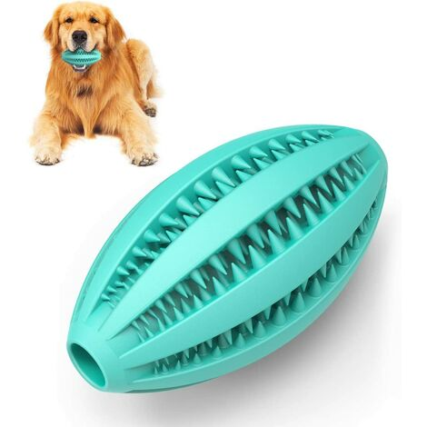 Non-toxic natural rubber dog chew toy for medium sized dogs