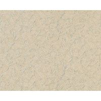 Non-woven wallpaper wall EDEM 925-33 deluxe embossed heavyweight vinyl beige silver 114 sq ft