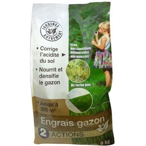 NONA Engrais gazon 2 en 1 - 9 kg