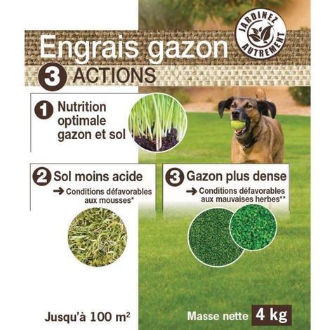 NONA Engrais gazon 3 en 1 - 4 kg Generique