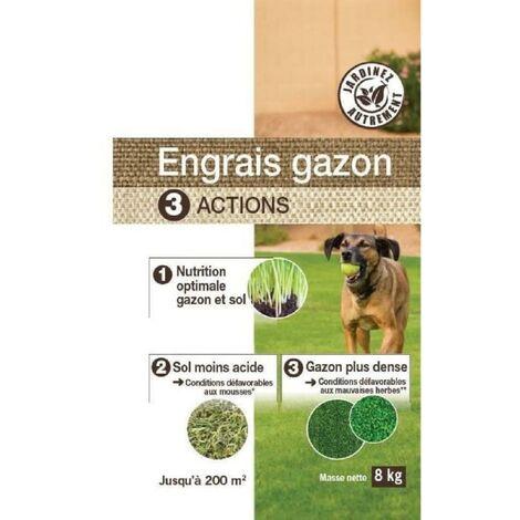 NONA Engrais gazon 3 en 1 - 8 kg