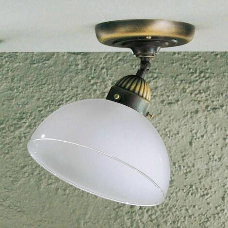 NONNA antique brass ceiling light 1 bulb, height 19 Cm