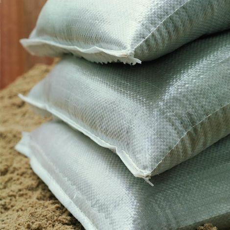 Noor Sandsäcke PP 40x60 cm 10 Stück 75g/m² mit Kopfsaum