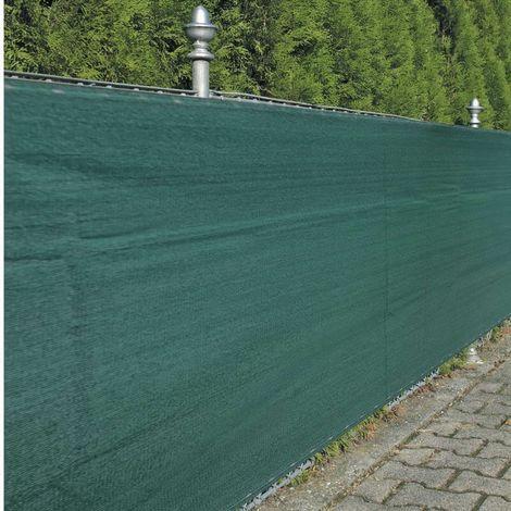 Noor Zaunblende Sichtschutz Zaun Winddurchlässig grün ca. Größe 1,0x5 m