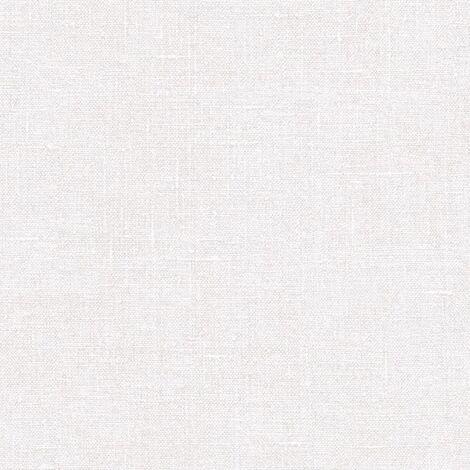 Noordwand Papel pintado Textile Texture blanco