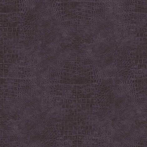 Noordwand Wallpaper Croco Purple