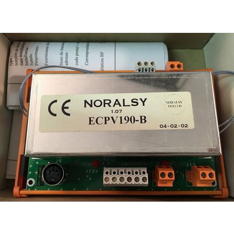 Noralsy ECPV190-B Central Provic Auto SS Phone 1P/ DIN for KCP4-B