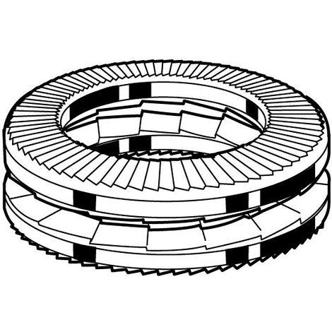 NORD-LOCK Vibration proof X-series wedge-locking spring washer Steel Delta Protekt® X-serie
