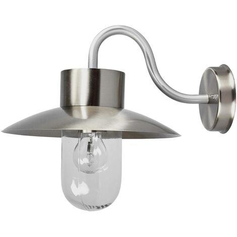 Nordic-looking outdoor wall light Leenke