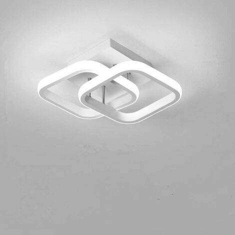 "main image of ""Nordic Style Acrylic Chandelier Modern Led Ceiling Light White Creative Design Ceiling Lamp for Bedroom, Kitchen, Living Room, Corridor, Restaurant, Balcony, Cold White"""