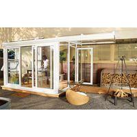 Nordic Wintergarten Sol 23100 Kunststoff weiß / Deluxe 400x385cm re.