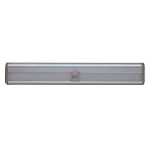 NORDLINGER PRO Réglette LED avec détecteur de mouvement - Gris