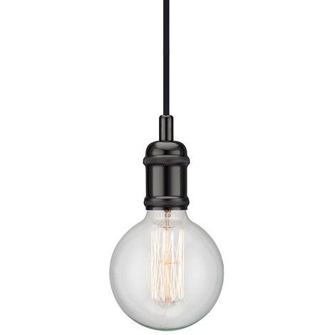 Nordlux Avra 84800003 Pendelleuchte LED E27 60W Schwarz S563311