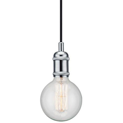 Nordlux Avra 84800033 Pendelleuchte LED E27 60W Chrom S563341