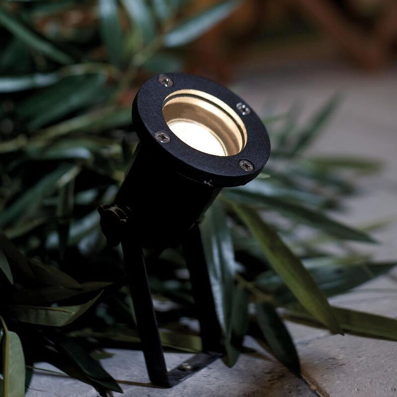 Nordlux 20789903 Spotlight Garten Spiess-Strahler IP54 Schwarz Gartenstrahler
