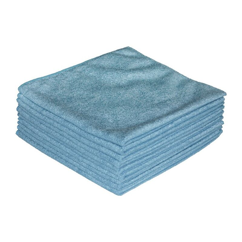 Tissu en microfibres ECONOMY bleu L400xl400env. mm textile - Nordvlies