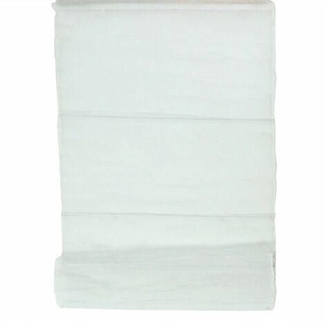 NORMANDY - Store 100% coton blanc 80x170