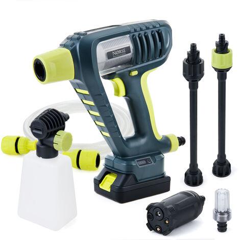 Norse SK25i - Lavadora a presión eléctrica - Incluye boquillas, limpiador de patio Plus y cepillos giratorios