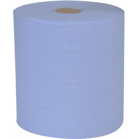 Northwood C1B309F Blue Centrefeed 1 Ply Roll (Case-6)
