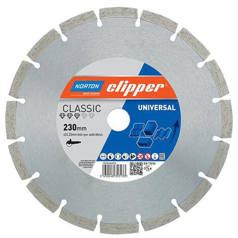Norton Clipper CLI626811 Classic Universal Blue Diamond Blade 300 x 20mm