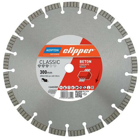 Norton Clipper CLI694468 Classic Beton Diamond Blade 300 x 20mm