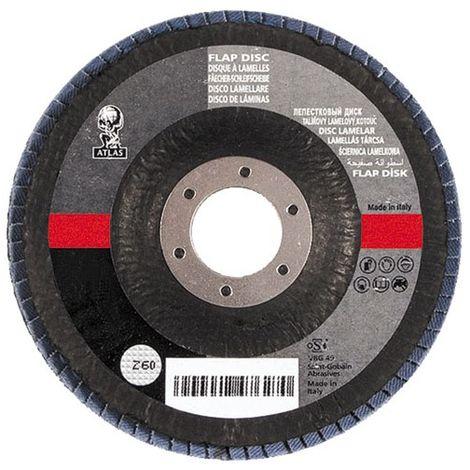NORTON - Disque à lamelles - grain 80 - 125 mm