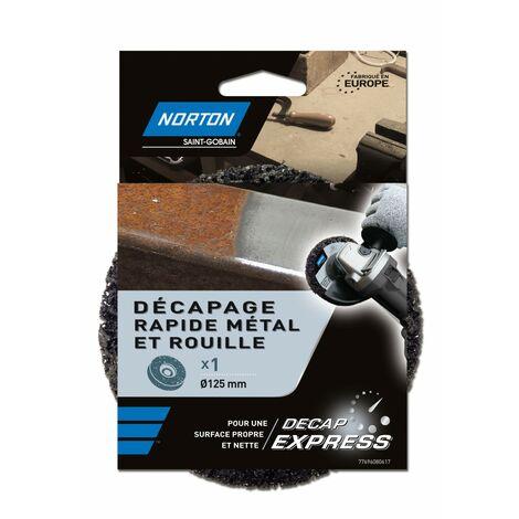 NORTON - Disque décap express métal D: 125 mm