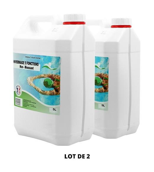 Hivernage 5 fonctions non moussant - 2x5L de Hivernage piscine - Swimmer