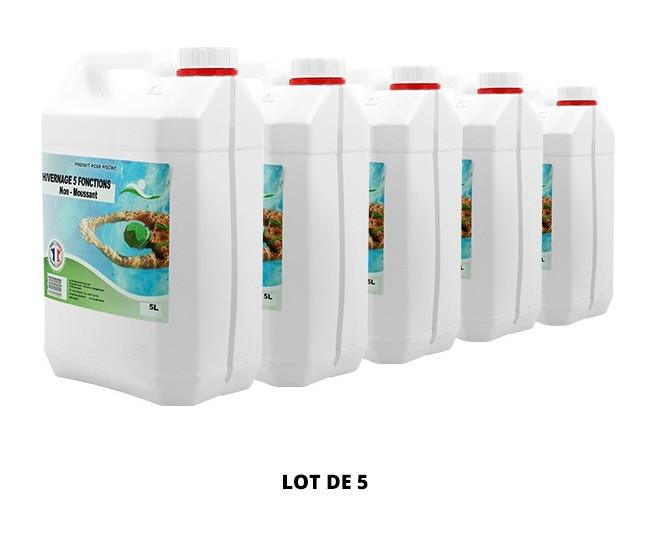 Hivernage 5 fonctions non moussant - 5x5L de Swimmer - Hivernage piscine