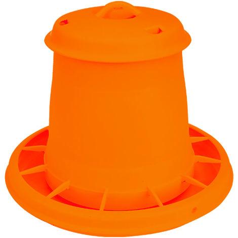 Nourrisseur à trémie orange WIN, 3,5 kg