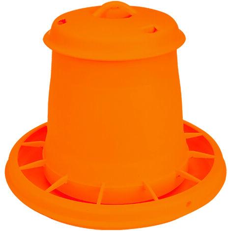 Nourrisseur à trémie orange WIN, 7 kg
