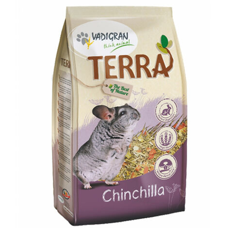 Nourriture Chinchilla 1 kg Terra